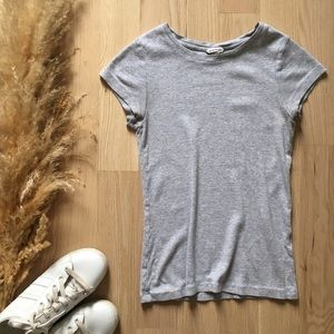 Club Monaco Ribbed Tee